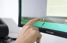 Dokumentscanner mit Touchbedienung